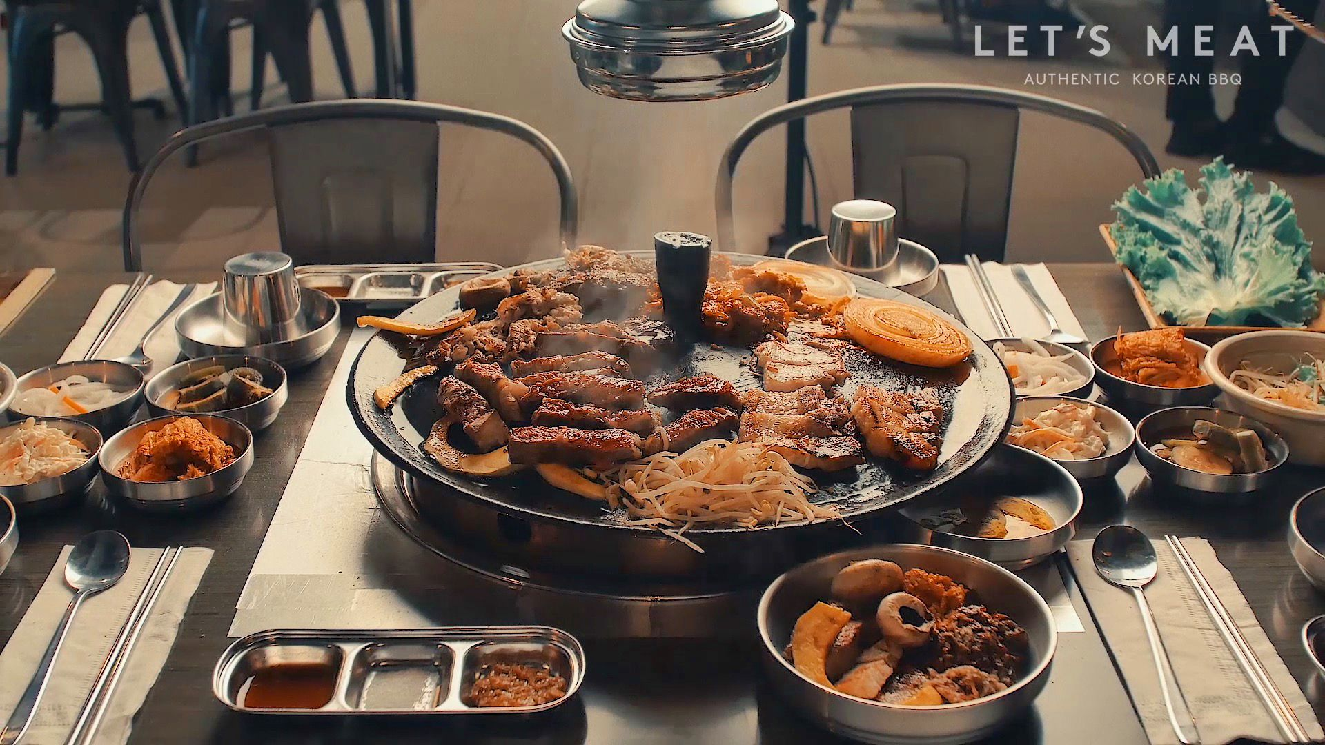 Let S Meat Bbq All You Can Eat Korean Bbq Buffet Ayce Barbecue Restaurant Korean Bbq Buffet Korean Barbecue