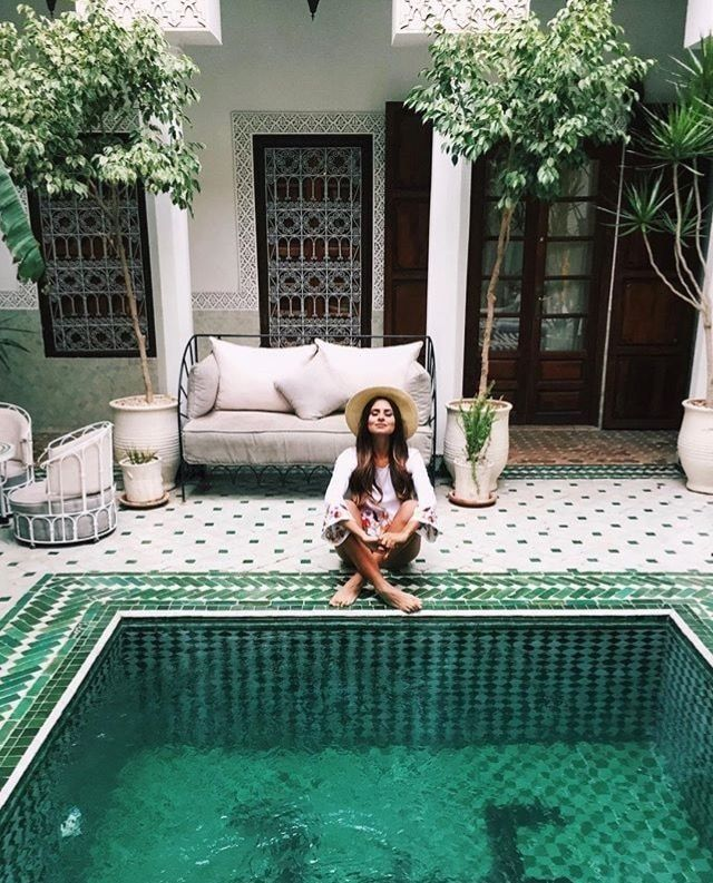riad yasmine boutique hotel marrakech morocco public interiors rh pinterest com