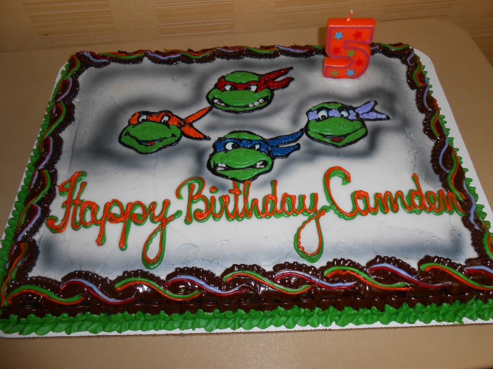 tmnt sheet cakes - Google Search | Sheet cake