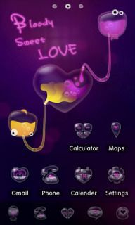 Download free Blood Sweet Love For Android Theme Mobile