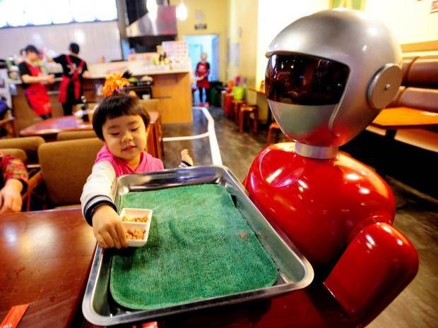 Virtual reality lessons could make some teachers millionaires experts predict    A robot serving food in a restaurant in China; they could soon be used to teach maths and reading to primary school pupils Getty  Robot classroom assistants and virtual reality learning could see celebrity teachers make millions experts claim.  Technology is set to play a vital role in helping the 263 million children globally who are not in school delegates at the annual Headmasters and Headmistresses Conference (HMC) heard.  Mark Steed the director of Dubai private school Jess said the format was already being used by some teachers to offer global internet-based seminars earning millions of pounds in the process.  He pointed to a Korean teacher who offers online lessons on cramming learning and made $8m (6m) in one year.  Mr Steed also predicted that robots could be used to teach maths and reading to primary school pupils.  He said there was already an example in Dubai where a robot accompanied sick children from the classroom to the schools health centre.  I think we will see more robots in the classroom and I think they will become routine particularly in primary classrooms as teaching assistants he said.  Mr Steed who outlined his vision at the HMC conference in Belfast said virtual reality (VR) headsets could enable a child in the developing world to sit in on a lesson delivered in a top independent school.  Humanoid robot arrives in the UK  He said footage captured by a 360-degree camera placed in the second row of one of the classrooms at Jess provided a totally immersive experience when watched through a VR headset.  When you put a headset on you feel as if you are in a classroom and its a very different experience from the passive idea of watching a screen he said.  I can turn to the left and right and see the people who are in the class there.  Theres no reason with time with increasing bandwidth and processor speed and everything that you could have the experience of a pupil sitting anywhere in the world feeling as if they were in the classroom of one of the top schools in the world.  He suggested the for-profit school sector had the resources to invest in the technology required to deliver the concept.  The educationalist also expressed confidence that cost implications associated with supplying headsets would not be overly prohibitive in the developing world.  He said the spread of mobile phones in developing countries was an example of how technology was not a barrier.  Mr Steed said he did not think the developments would catch on in UK schools in the short-term claiming the nation was too wedded to the traditional concept of a teacher standing in front of a class.  But he predicted such technology would increasingly be used to address education deficits elsewhere in the world.  I think technology is going to become part of the solution he said.  I dont think well see much of this necessarily in the UK in the short-term but on a global scale there will be opportunities for top teachers and the top institutions to share their lessons with people around the world.  The HMC is a body which represents the heads of independent schools around the world.  PA  Source:Independent