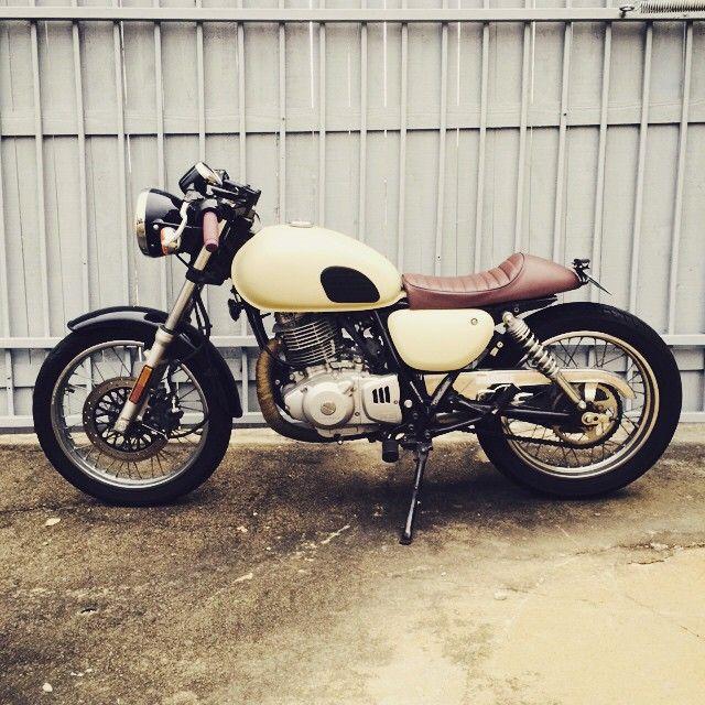 My TU250x build - In Progress | Dream Motorcycles | Suzuki