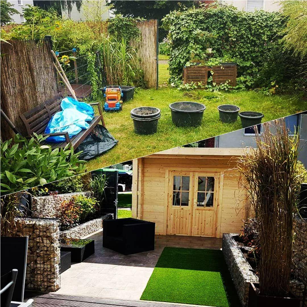 Vorher Nachher Eine Komplette Verwandlung Des Gartens Auf Kundenwunsch Garten Gartengestaltung Neubau Hausb Garten Design Garten Outdoor Dekorationen