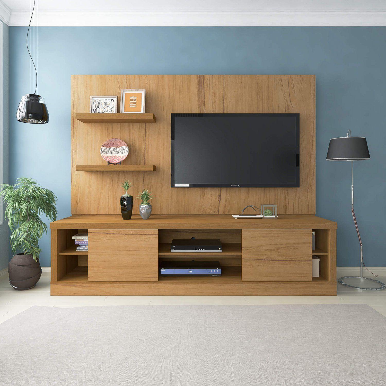 Estante Home Theater Para Tv Até 55 Polegadas Aron: Estante Home Para TV Até 55 Polegadas Aron Espresso Móveis