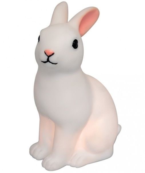 41 Coolest Night Lights To Buy Or Diy Bunny Lamp Bunny Nightlight Night Light