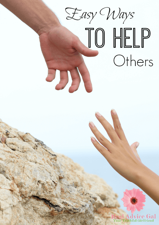 Every One Of Us Can Make A Difference By Helping Others Even In The Simplest Way We Can Here Are Helping Others Helping Hands Craft Service Projects For Kids