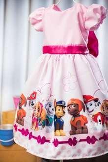 Vestido Da Patrulha Canina Pink Paw Patrol Skye Em 2019