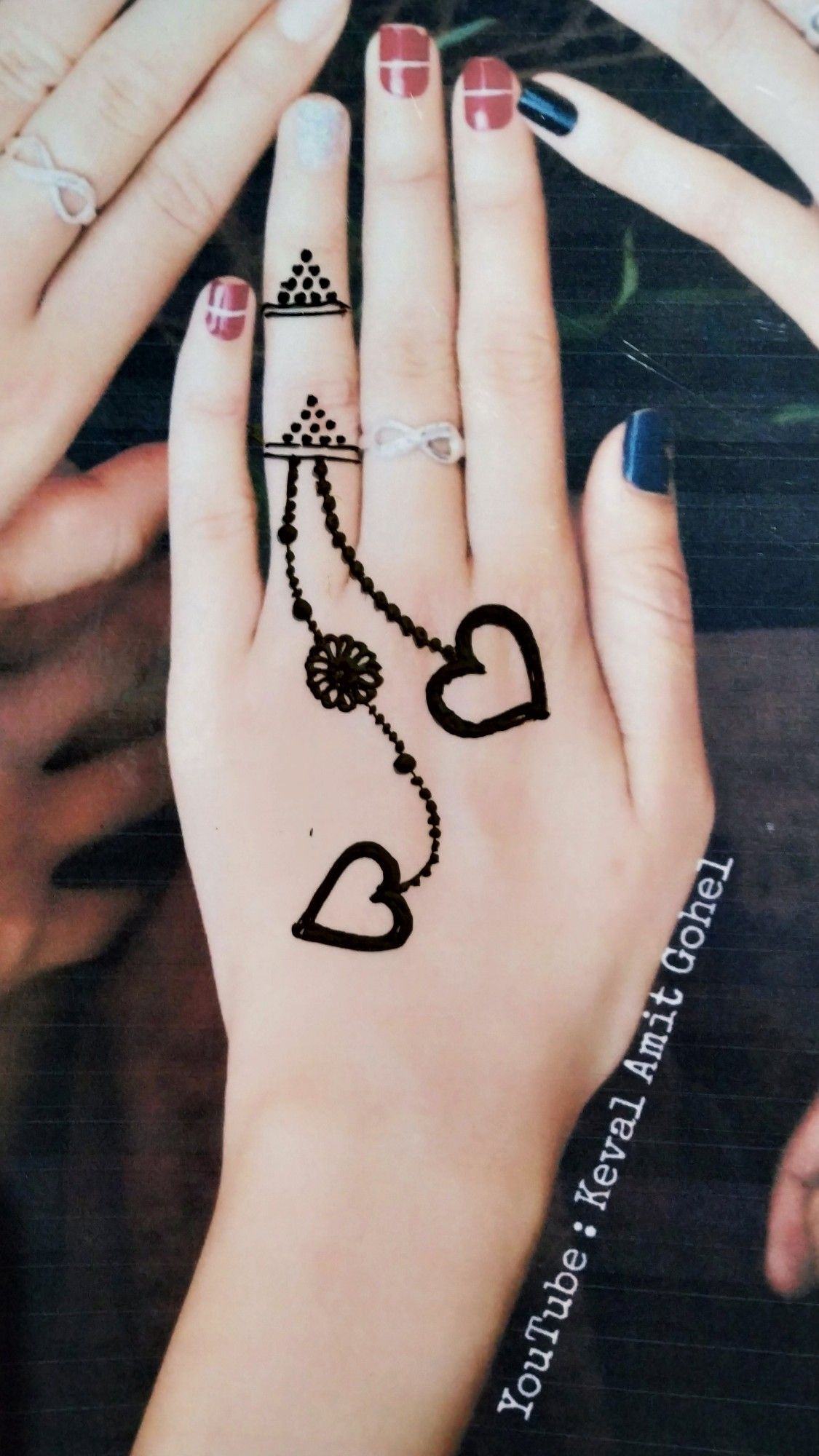 Beautiful Mehndi Simple Henna Tattoo Mehndi Designs For Fingers Finger Henna Designs