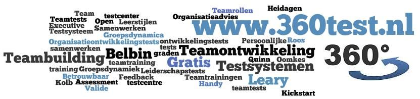 Gratis teamtests op www.360test.nl