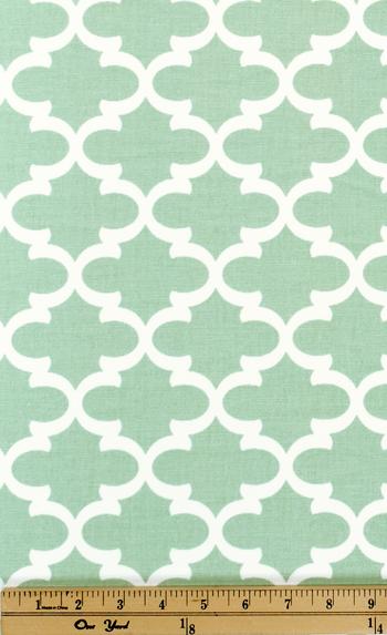 Quatrefoil Fabric Fulton Artichoke made by Premier Prints Inc
