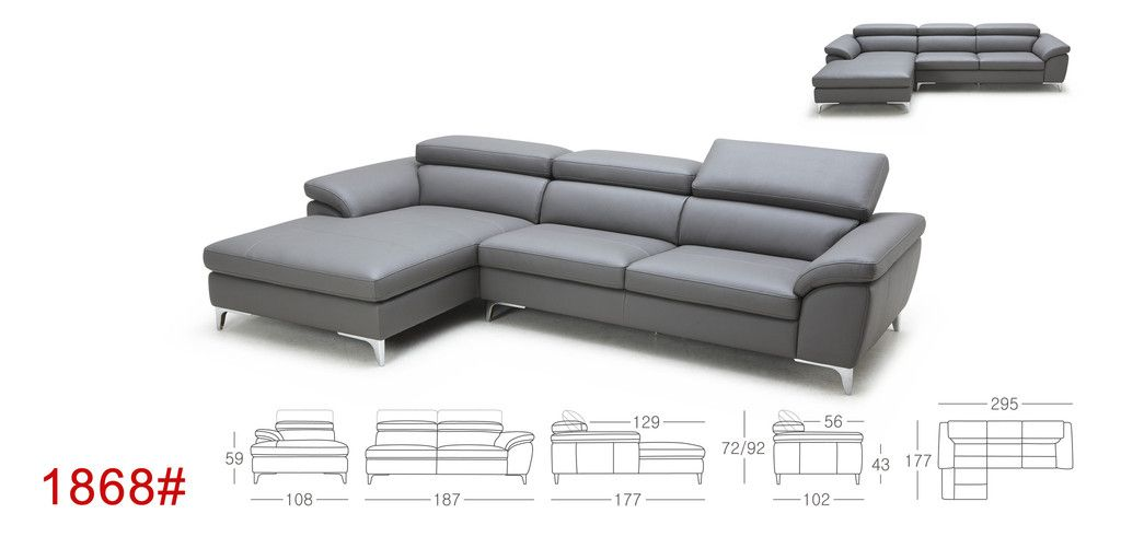 1868 Kuka K Touch Fabric Sectional Pre Order Eurohaus