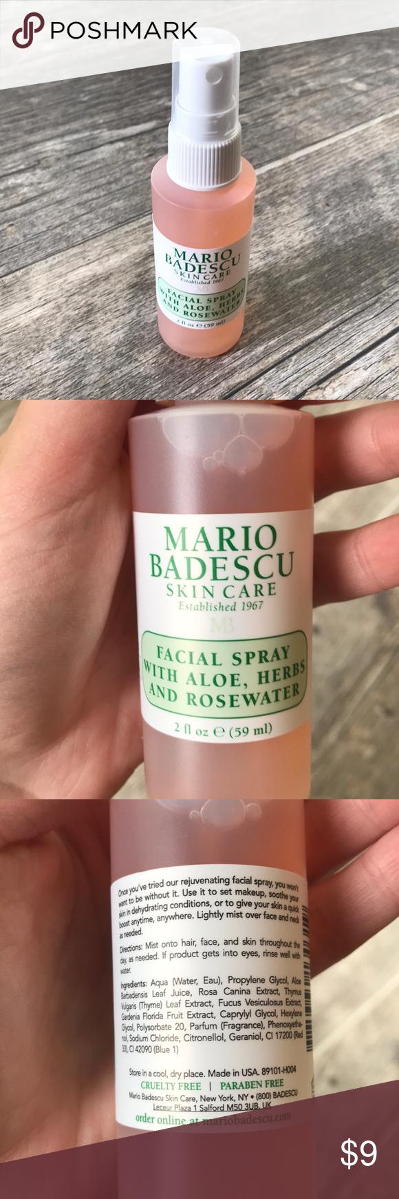 Mario Badescu Facial Spray Mario Badescu Facial Spray With Aloe