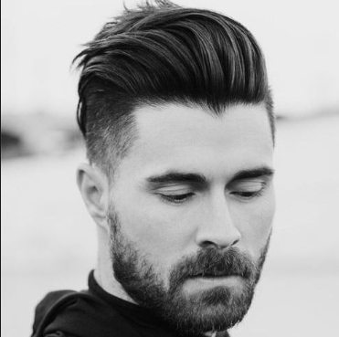 6 latest men's hairstyles short sides long top for 2018