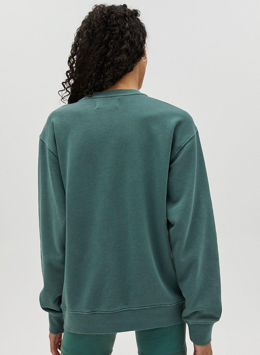 The Perfect Crew Light Crew Neck Sweatshirt Crew Sweatshirt Fashion [ 1147 x 840 Pixel ]
