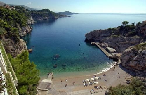 View from Hotel Bellevue. Dubrovnik, Croatia. Croatia