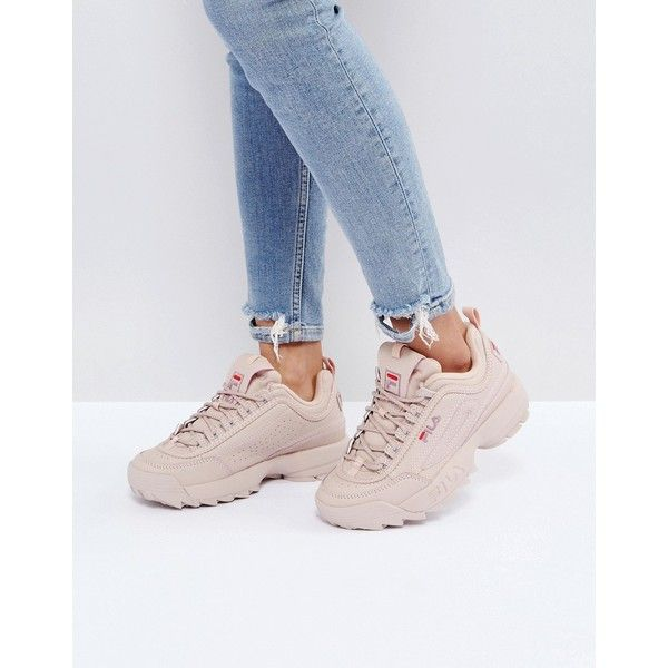 Disruptor Trainers Nude Fila In Low Rwqn4XSRdP