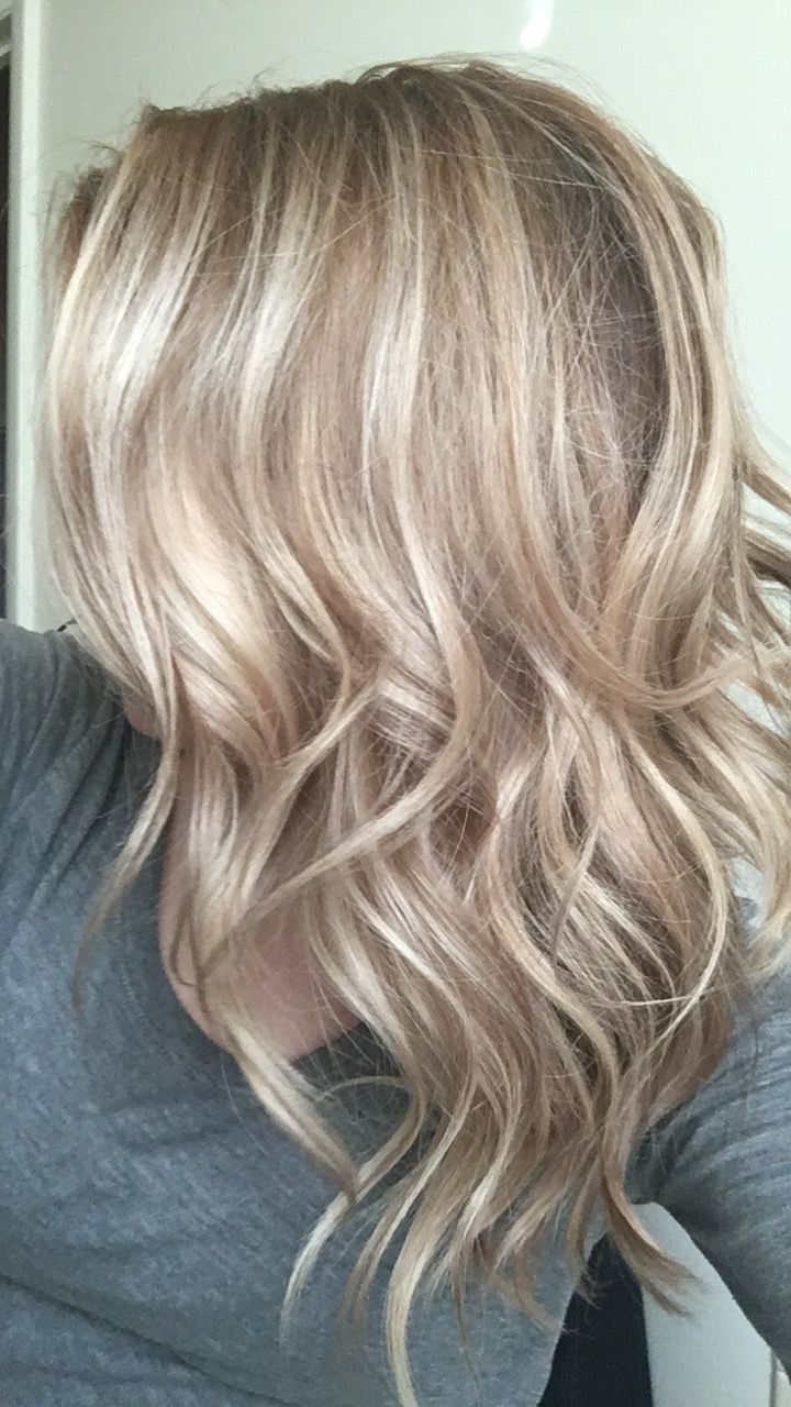 Balayaged Sandy Blonde Done By Janie At Shear Innovations Hair And