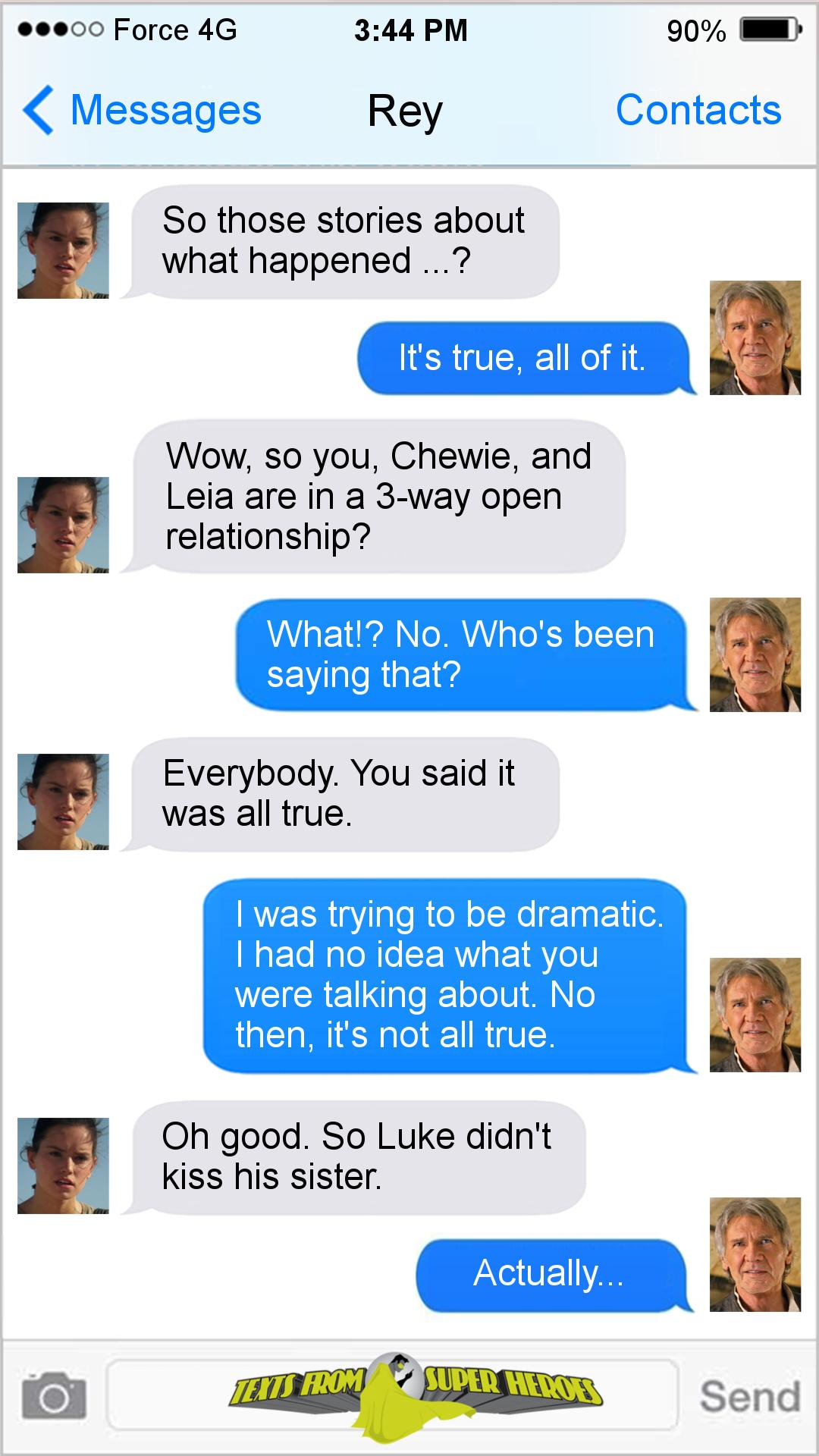 Texts From Superheroes Star Wars Memes Star Wars Jokes Star Wars Humor
