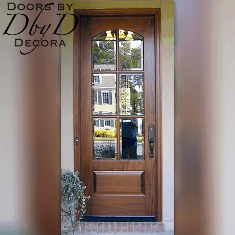 Custom Craftsman Door With Transom Wood Entry Entry Doors With Glass Front Doors With Windows Craftsman Door