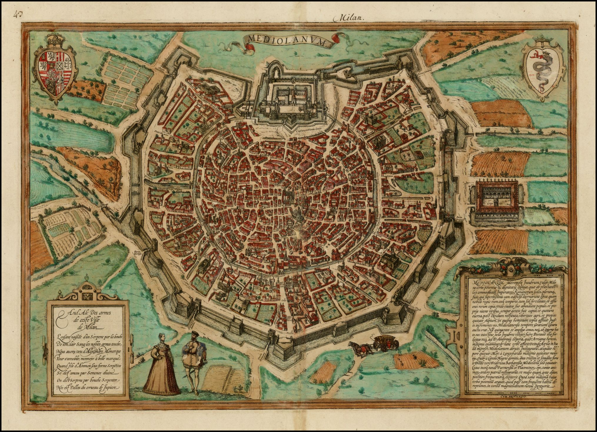 View of milan 1572 map milan milano italy mapporn map art view of milan 1572 map milan milano italy mapporn gumiabroncs Image collections