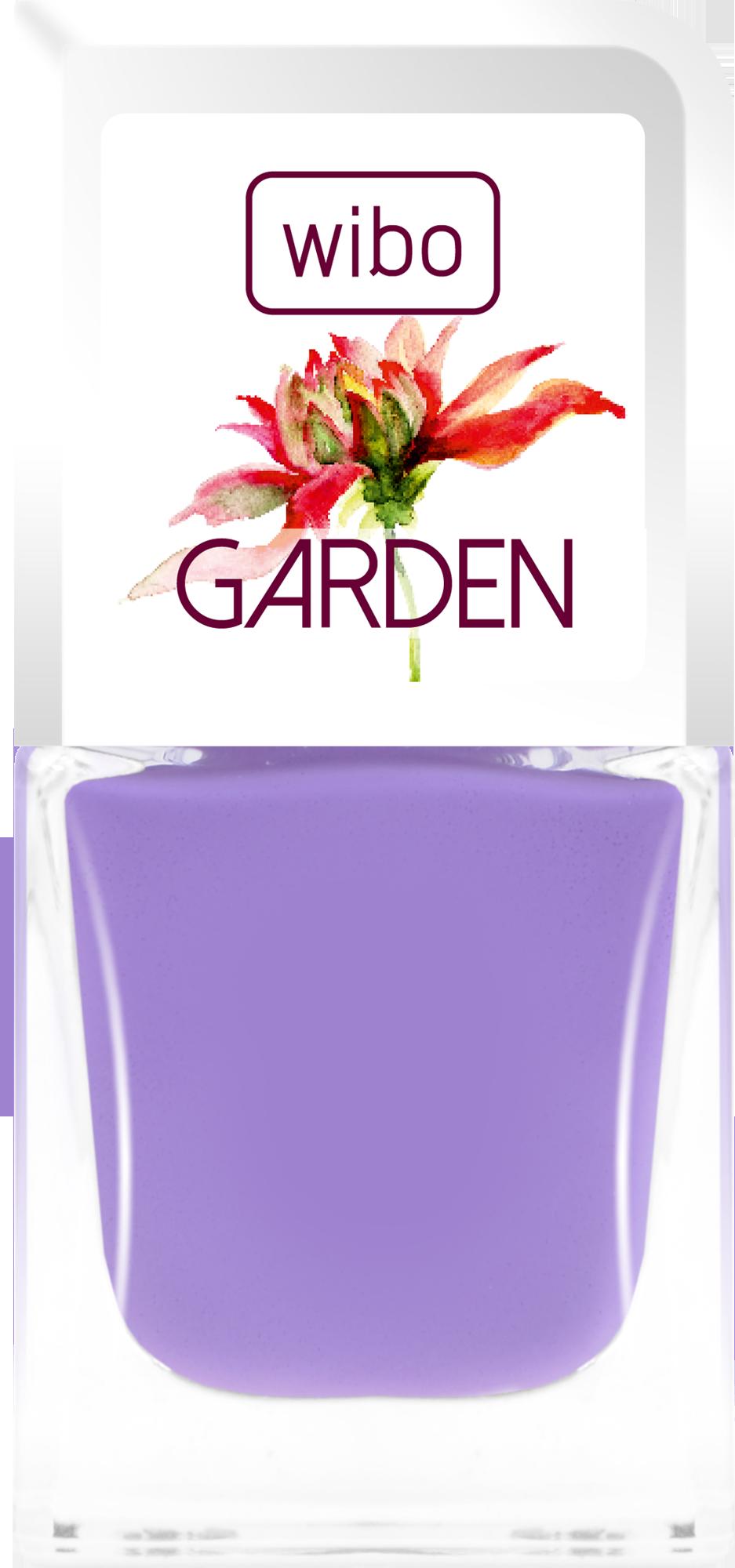 Lakier GARDEN nr 1 #nails #manicure #wibo #wibokosmetyki #kosmetyki #nailsart #color #garden #flower #new