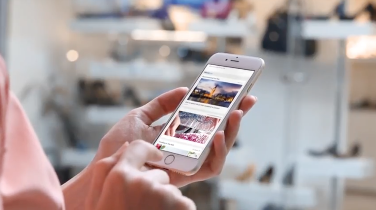 Target mobili ~ Taboola intros facebook style news feed to target mobile users