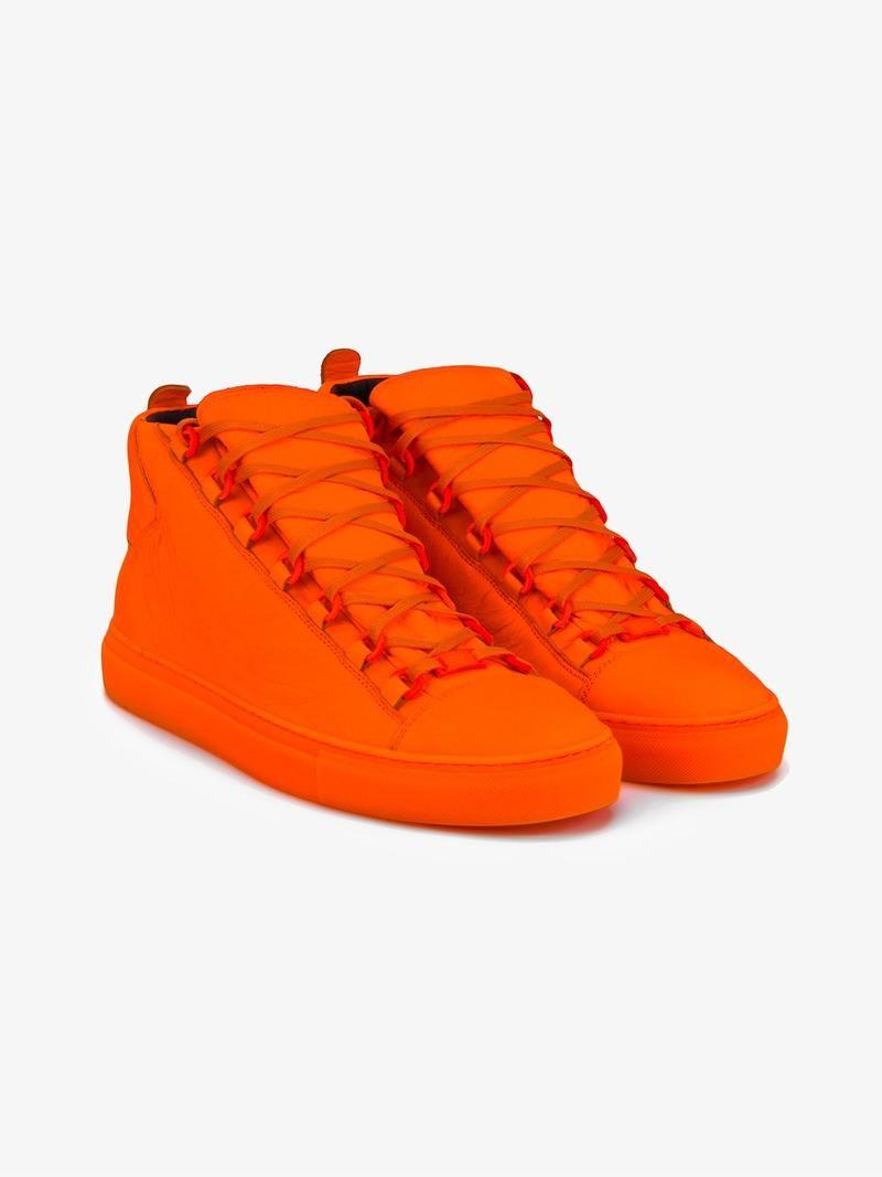 0049b4b131c3d BALENCIAGA HI-TOP SNEAKERS. #balenciaga #shoes #sneakers ...