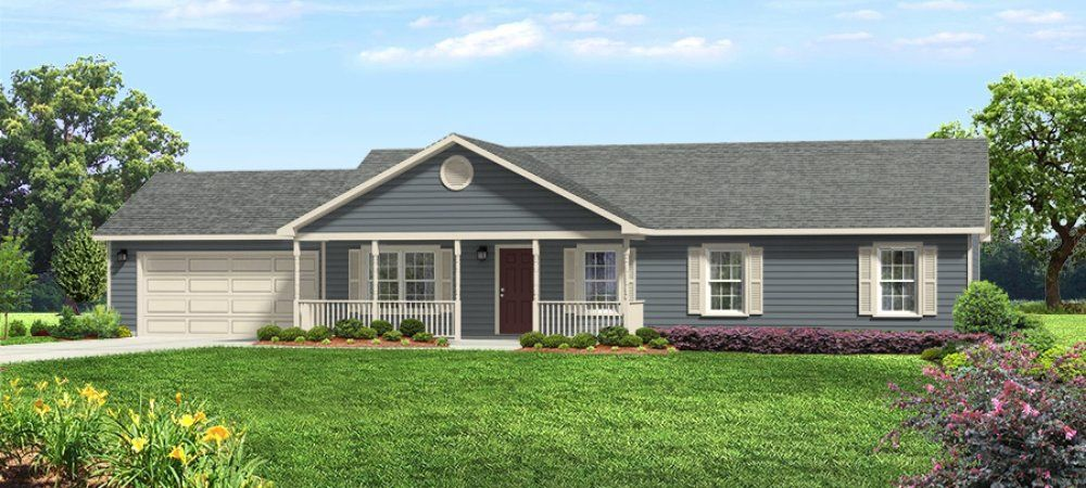 At 1,400 square feet, Arkansan offers a front porch and ...