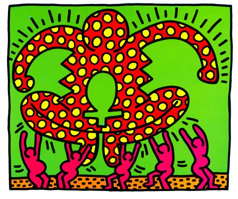 Untitled, 1983, Keith Haring