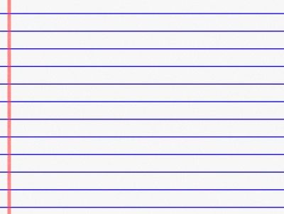 Lined Paper PPT Backgrounds