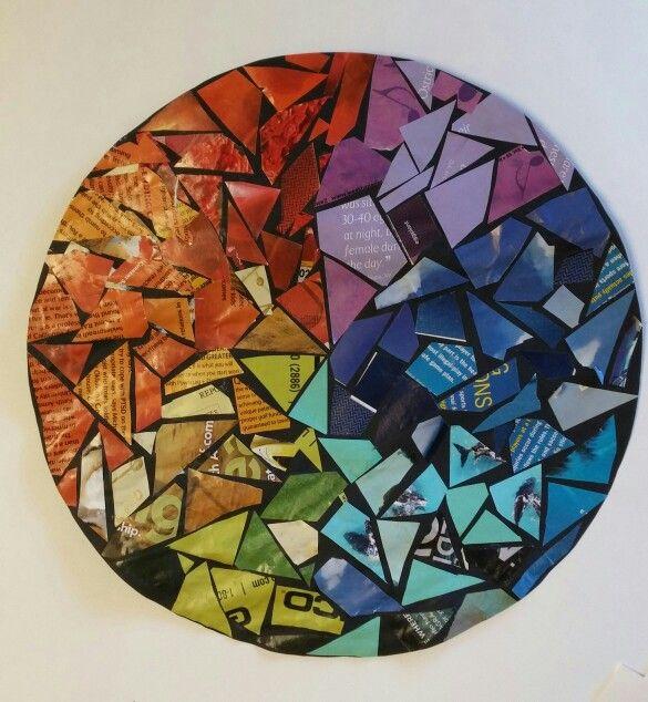 Color Wheel Rainbow Colours Mandala Circle  Color Love