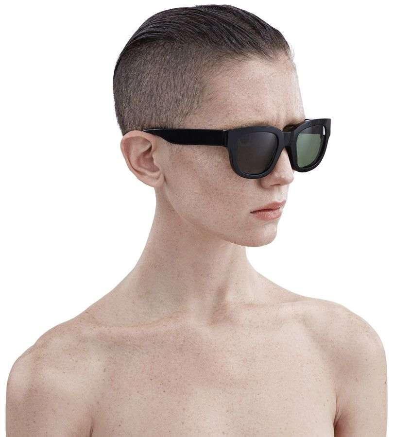 Acne Studios - Frame Black/Green Shop Ready to Wear, Accessories, Shoes and Denim for Men and Women