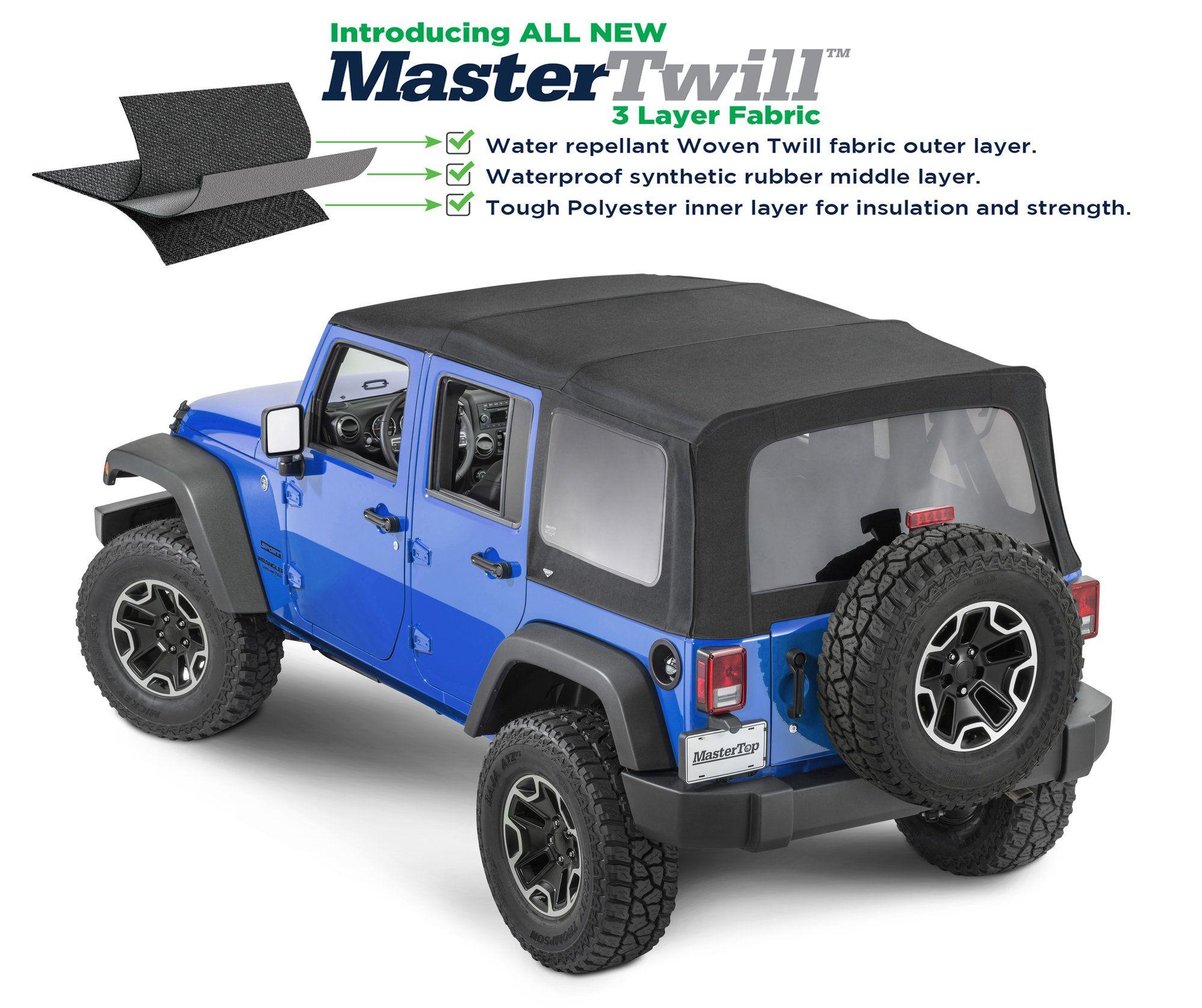 Jeep Jku Soft Top Windows