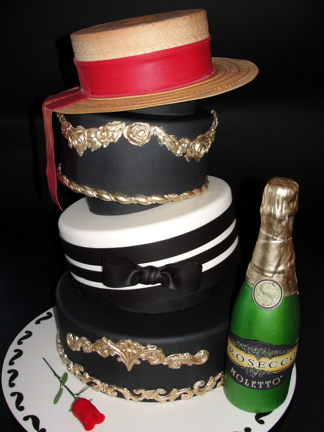 Gondolier themed cake possibly something to incorporate