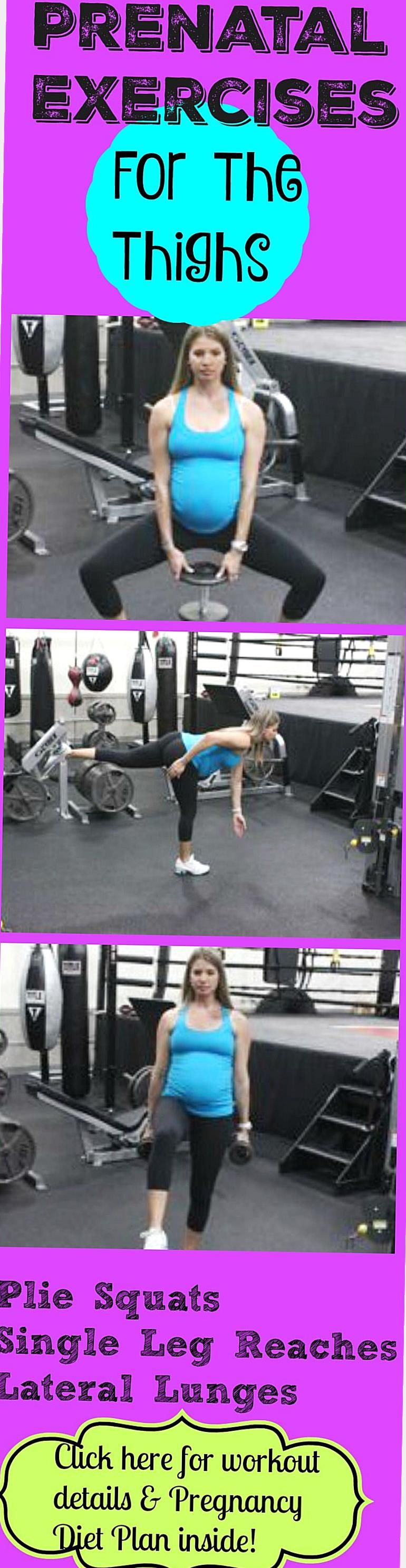 These prenatal exercises for the thighs are going to help ...