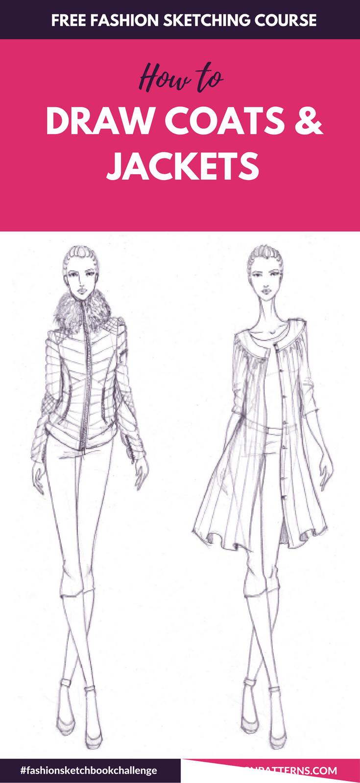 Fashion Sketchboook Challenge New Fashion Illustration Tutorial Fashion Illustration Sketches Fashion Design Sketches