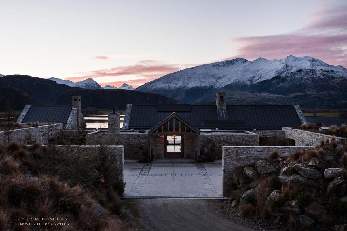 Central Otago House By Sumich Chaplin Architects Cabin In 2019