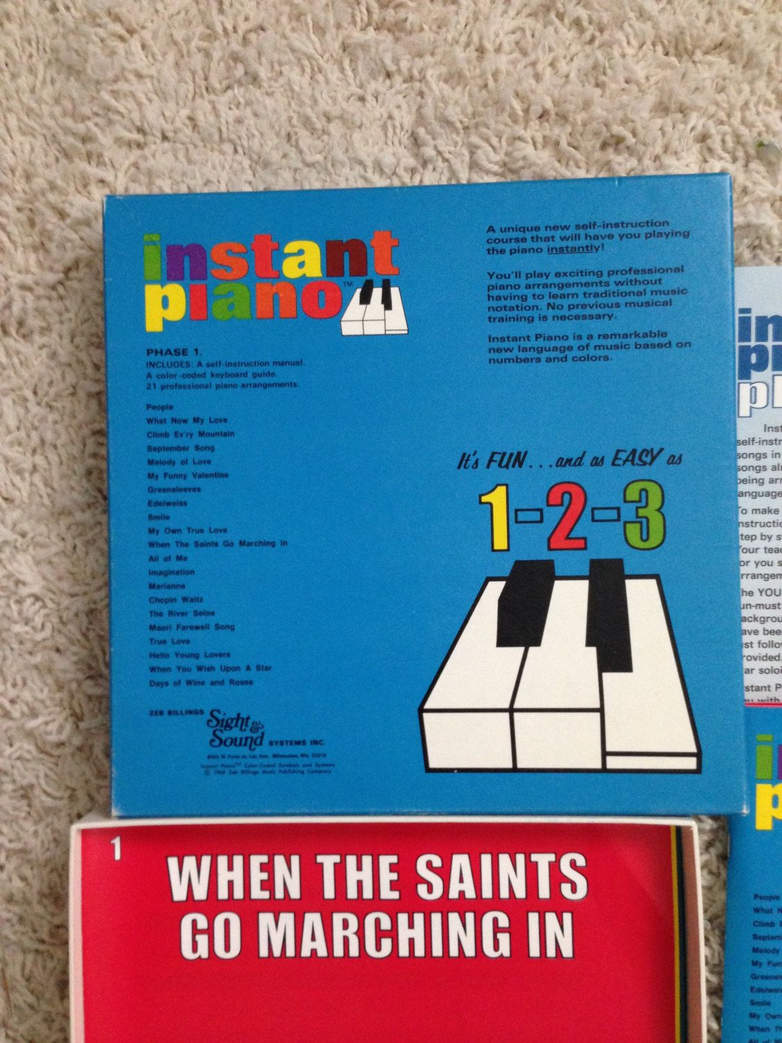 Zeb Billings Sight & Sound Instant Piano Phase I Self