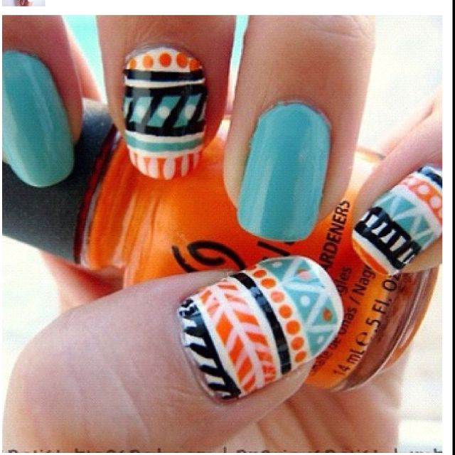 @Malia Arlt, can we do this to you're nails? i feel like you could rock these :)