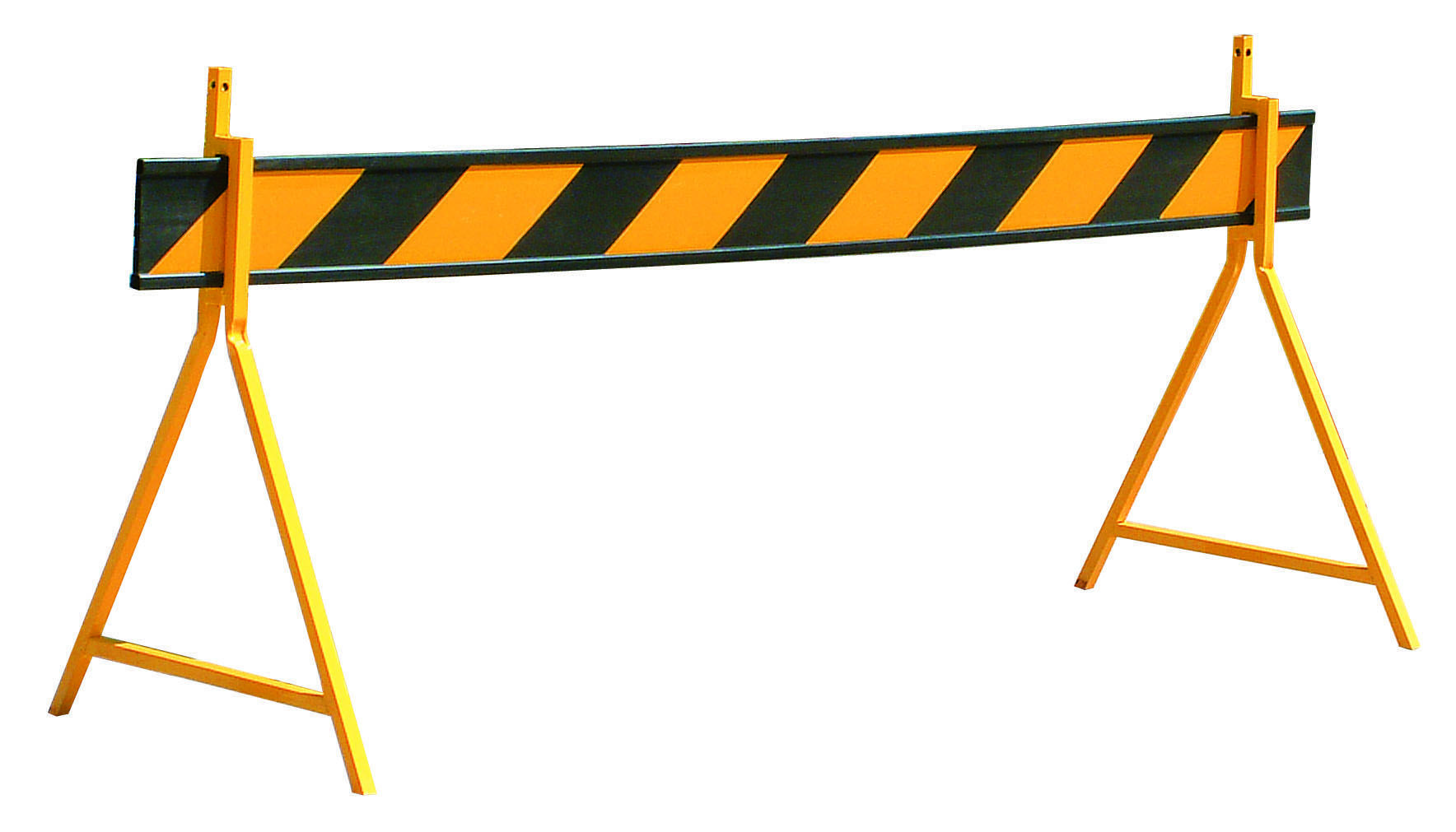 Heavy Duty Reflective Barrier Board with Yellow Reflective