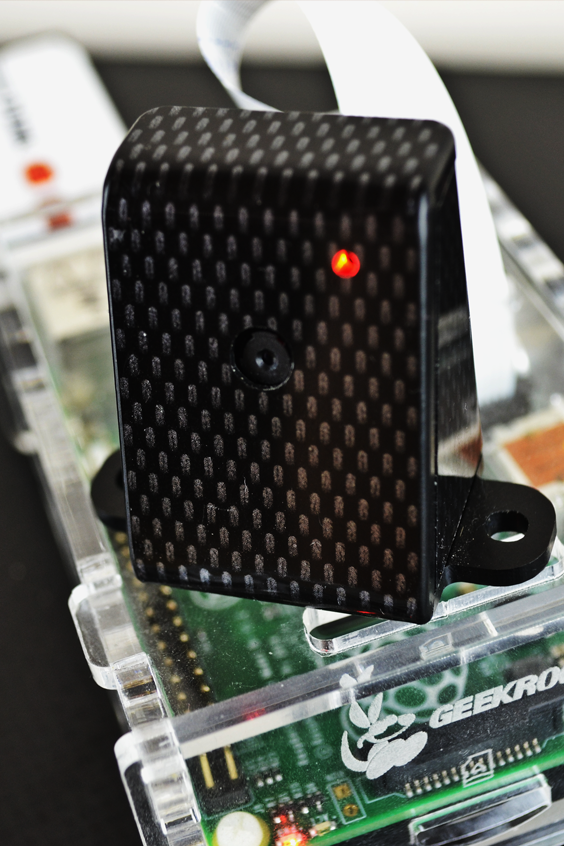By using MotionEyeOS you can build your own Raspberry Pi security