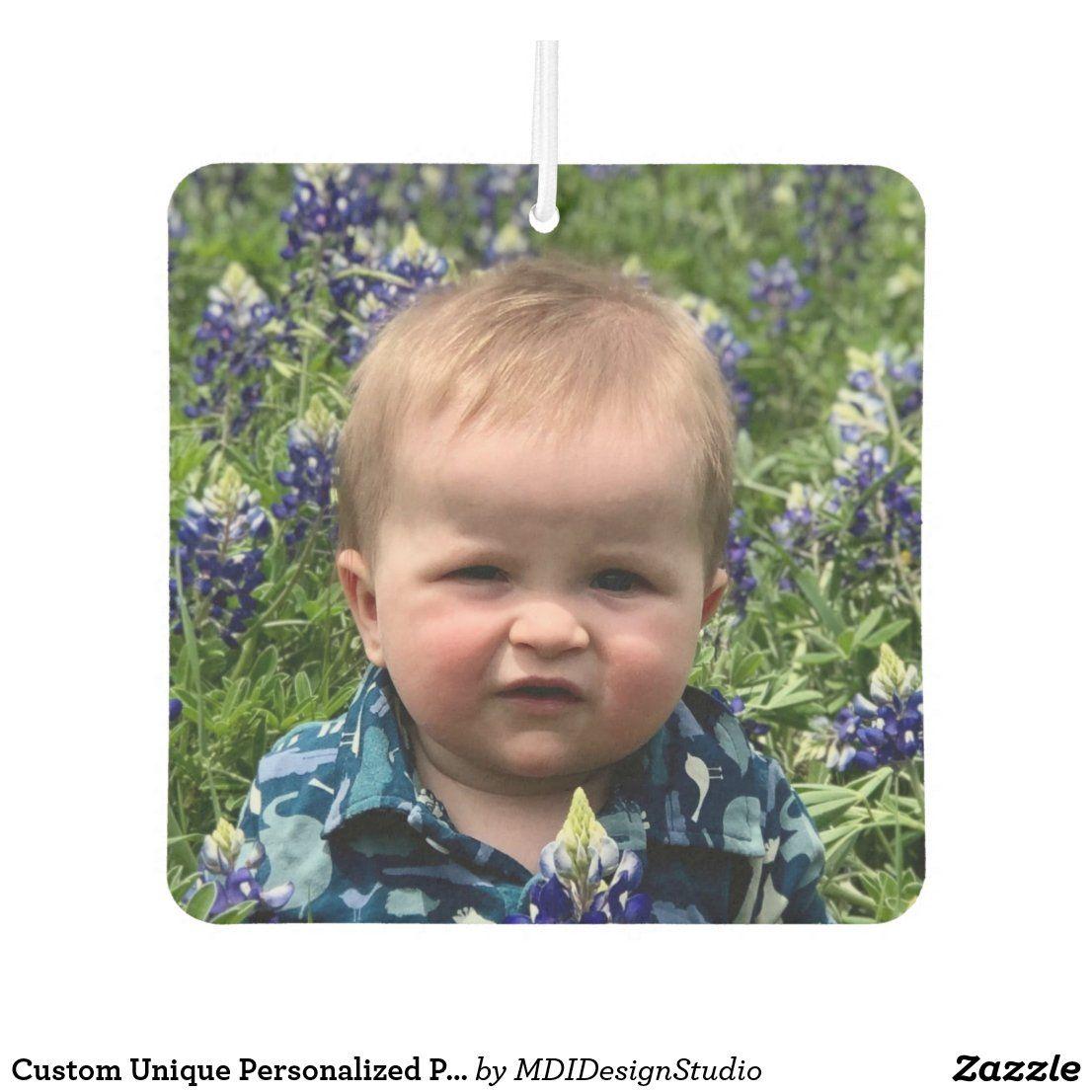 Design Your Own Custom 2 Photo Air Freshener