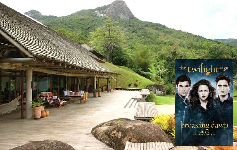 Breaking Dawn Honeymoon Hideaway In Brazil In 2020 Twilight Honeymoon Honeymoon Scene Honeymoon House