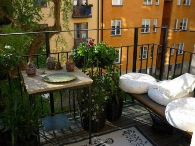 Idee per arredare un balcone piccolo | Pinterest