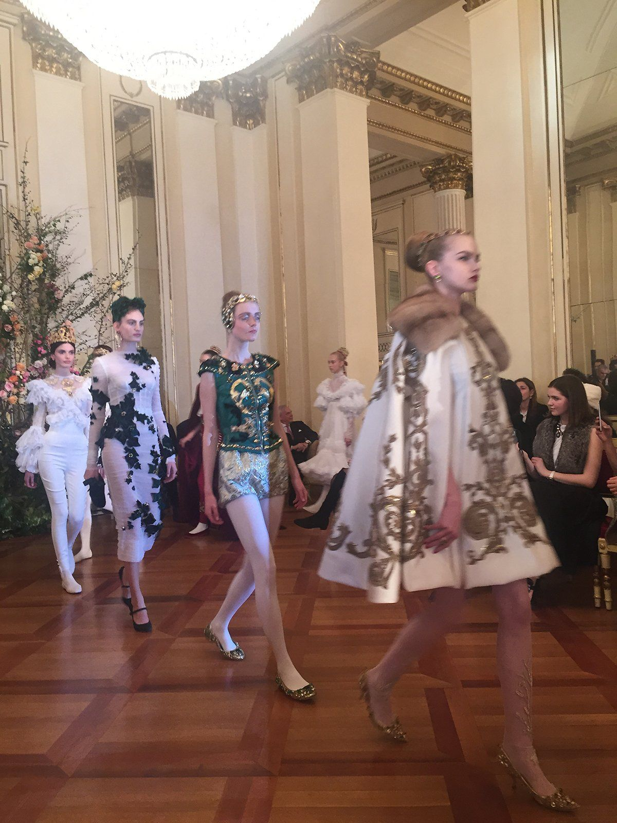 dolce gabbana s spectacular ballet inspired alta moda show dolce rh pinterest ca