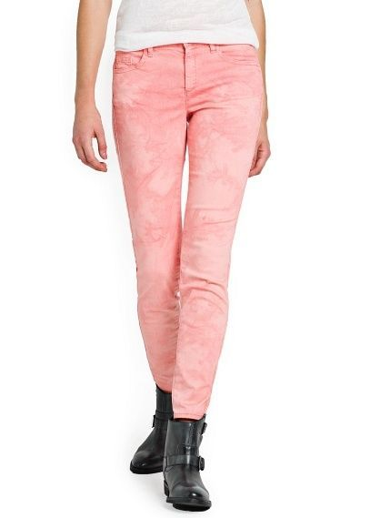 78775594 Pin by SIGNIFIC-BOUTIQUE on MANGO COLLECTION | Slim fit trousers, Coral  tie, Trousers