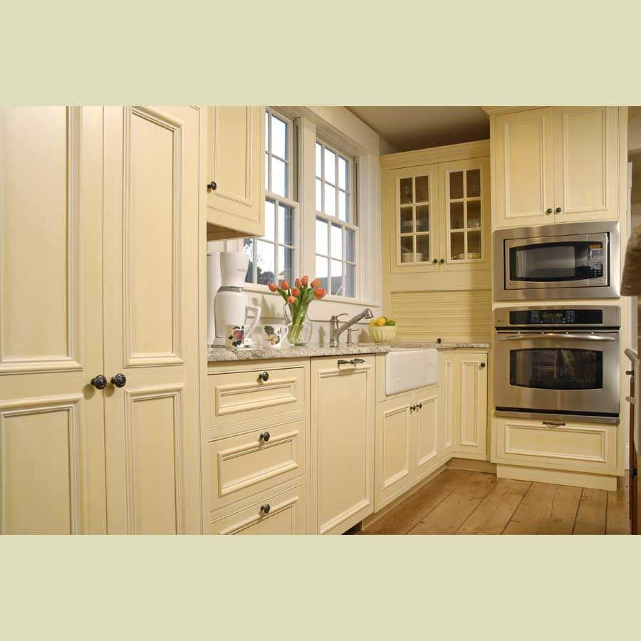 Painted cream cabinets images solid wood kitchen cabinet for Wooden kitchen cupboards