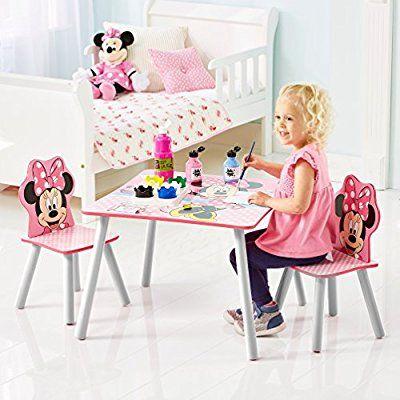 Minnie #Mouse   Set Aus #Tisch Und 2 #Stühlen Für #Kinder: