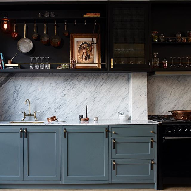 Cool kitchen * Interiors * The Inner Interiorista #greykitcheninterior