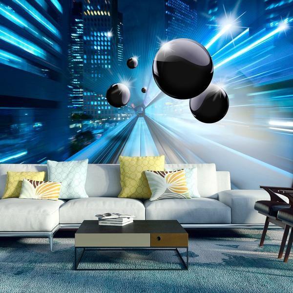 Carta da parati 3D - Time & Space nel 2020   Decorare le ...